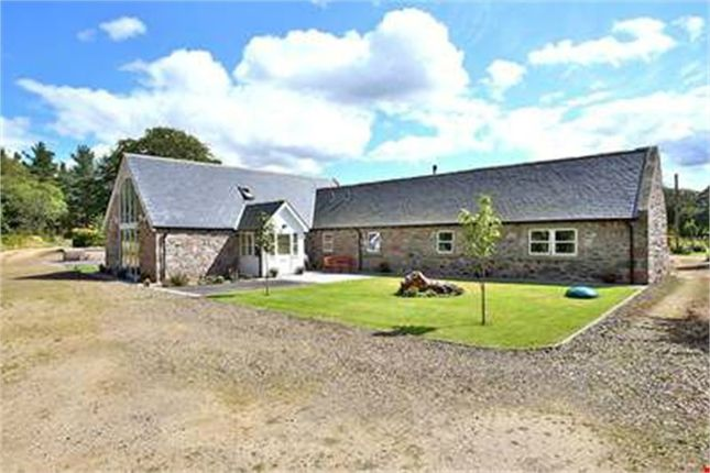 Thumbnail Detached house for sale in Keig, Alford, Aberdeenshire