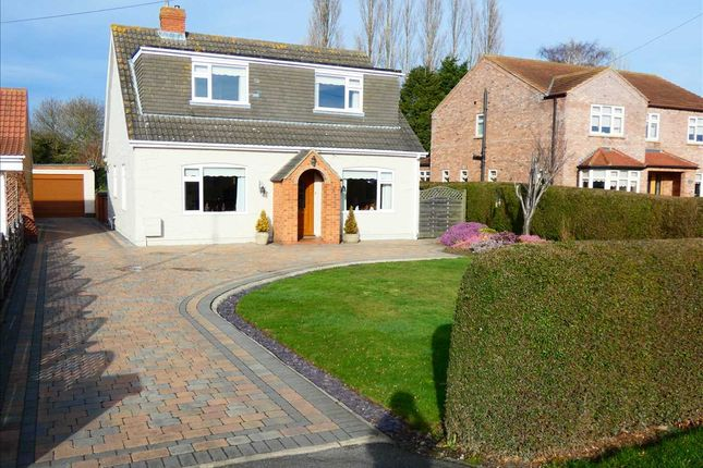 Thumbnail Detached bungalow for sale in Louth Road, Holton-Le-Clay, Grimsby
