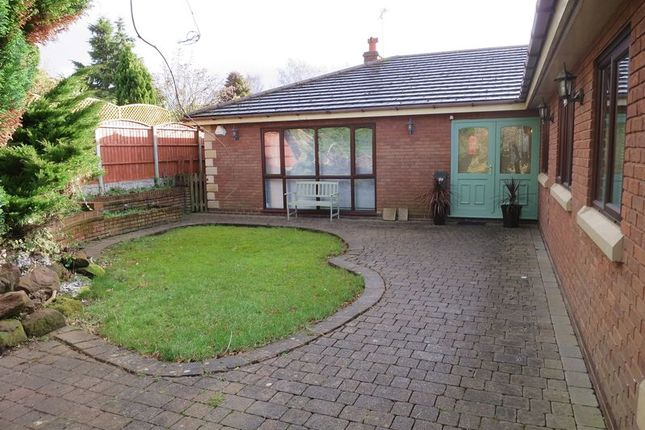 Thumbnail Detached bungalow to rent in Woodhart Lane, Eccleston, Chorley