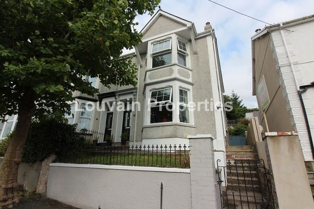 Thumbnail Semi-detached house for sale in Kimberley Terrace, Georgetown, Tredegar, Blaenau Gwent.