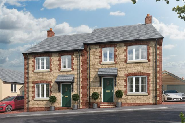 Thumbnail Semi-detached house for sale in Stoke Meadow, Silver Street, Calne