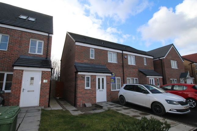 Thumbnail Semi-detached house for sale in Admiral Court, Blyth