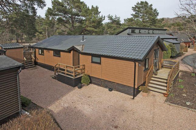Thumbnail Lodge for sale in Highlands Lodge, The Moorings, Invertilt Road, Bridge Of Tilt, Pitlochry
