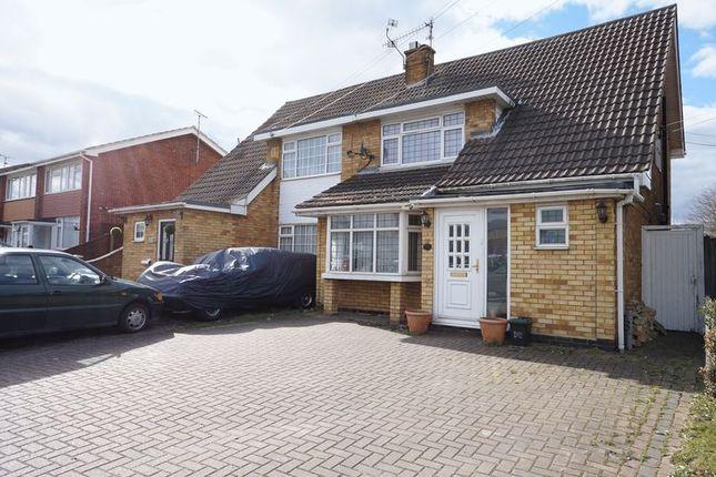 Thumbnail Semi-detached house for sale in Rushbottom Lane, Benfleet