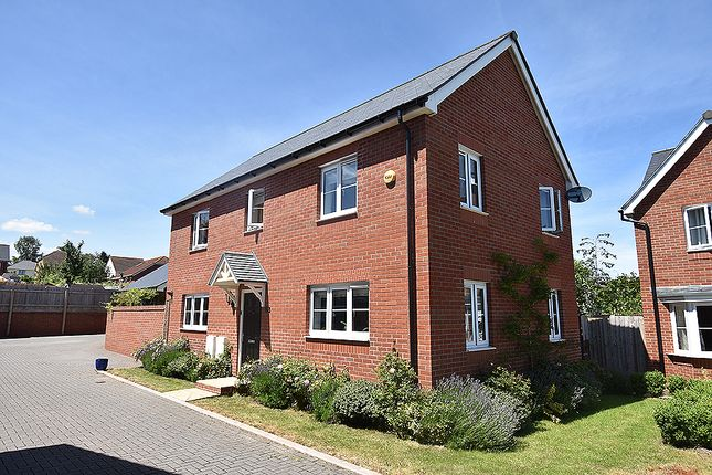 Thumbnail Detached house for sale in Sentrys Orchard, Exminster, Near Exeter