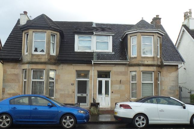 Thumbnail Semi-detached house to rent in Paisley Road, Barrhead, Glasgow
