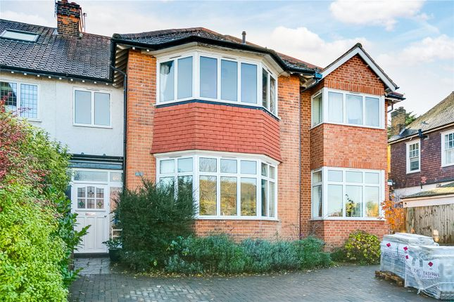 Thumbnail Semi-detached house for sale in Upper Richmond Road West, Richmond, Surrey