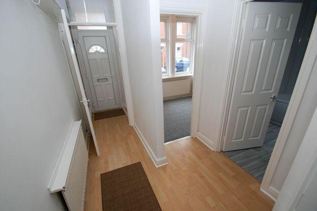 Hallway of Collingwood Street, South Shields NE33