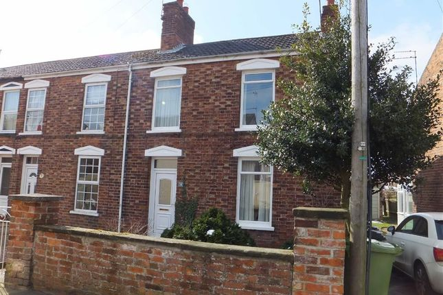 Thumbnail End terrace house to rent in Nursery Street, Market Rasen