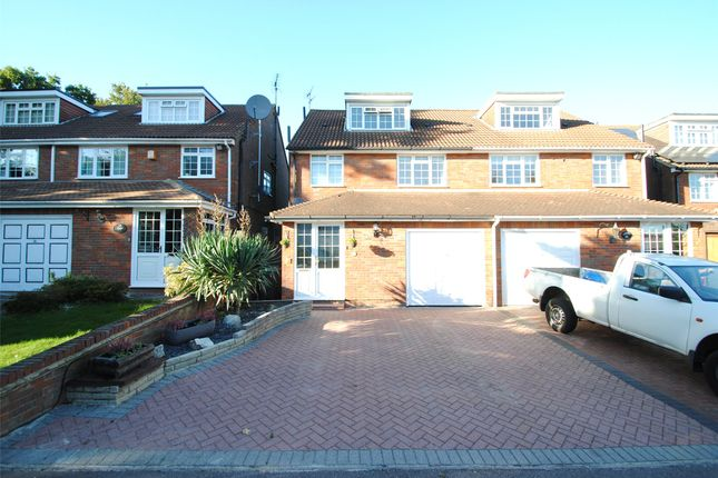 Thumbnail Semi-detached house to rent in Wadham Road, Abbots Langley
