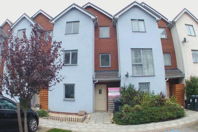 Thumbnail Town house to rent in Adams Drive, Ashford