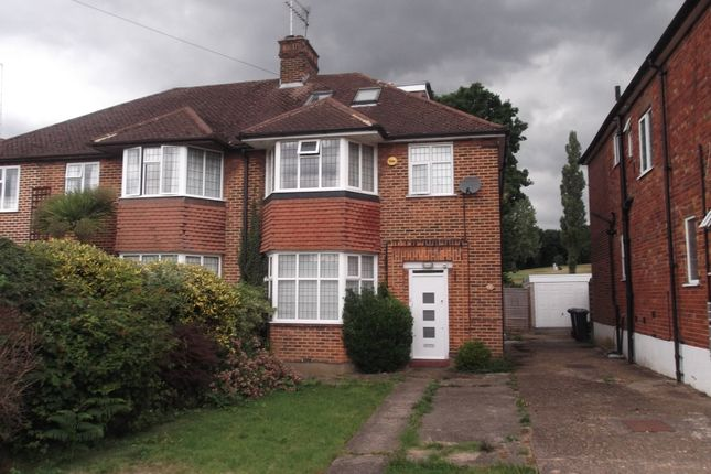 Thumbnail Semi-detached house to rent in Linkside, Woodside Park