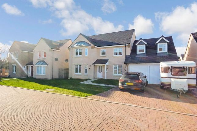 Thumbnail Detached house for sale in Wester Kippielaw Loan, Dalkeith