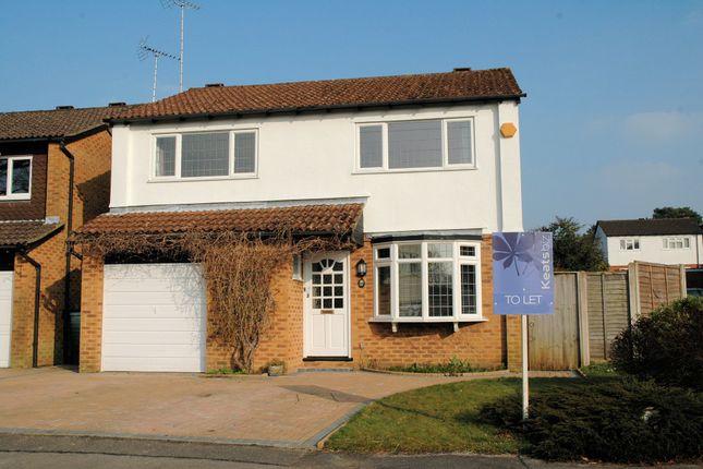 Thumbnail Detached house to rent in York Close, Whitehill, Bordon