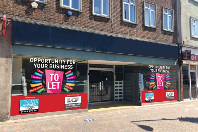 Thumbnail Retail premises to let in 195-197, High Street, Orpington