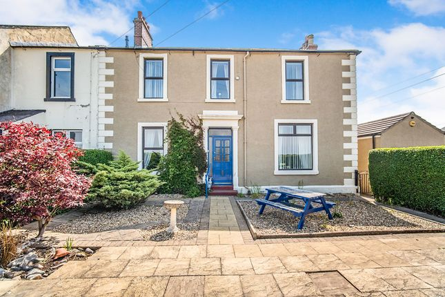 Thumbnail Semi-detached house for sale in Prospect Place, Silloth, Wigton, Cumbria