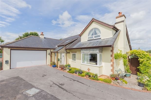 Thumbnail Detached bungalow for sale in Croft Road, East Ogwell, Newton Abbot, Devon.
