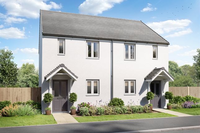 """Thumbnail Terraced house for sale in """"The Alnwick"""" at Bickland Hill, Falmouth"""