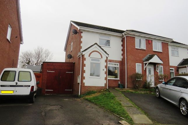 Thumbnail End terrace house for sale in Spires Walk, Barry