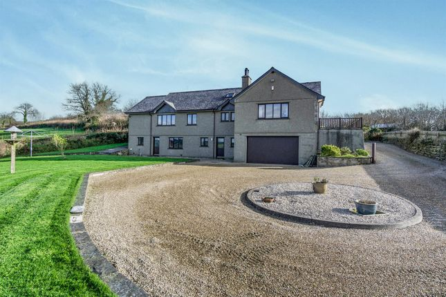5 bed detached house for sale in Dolcoath, Pillaton, Saltash