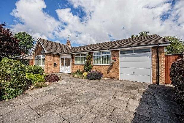 Thumbnail Detached bungalow for sale in Michaels Close, Formby, Liverpool