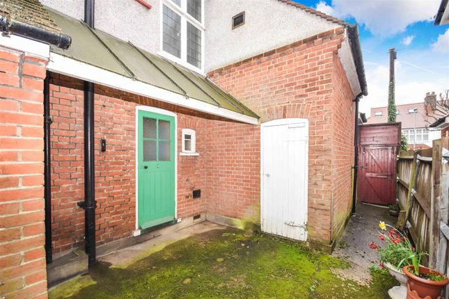 Access To Garage of Orchard Avenue, New Malden KT3