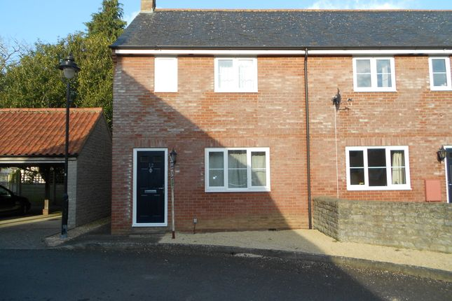 3 bed terraced house to rent in Ivel Gardens, Ilchester, Yeovil BA22