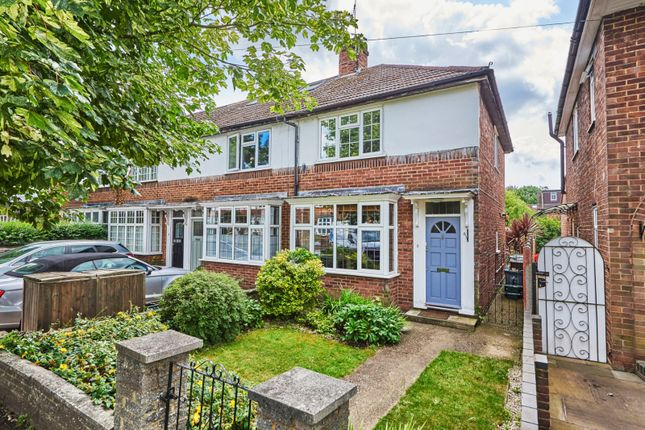 Thumbnail End terrace house for sale in Mentmore Road, St. Albans, Hertfordshire