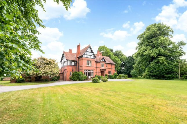 Thumbnail Detached house for sale in Village Road, Old Waverton, Chester