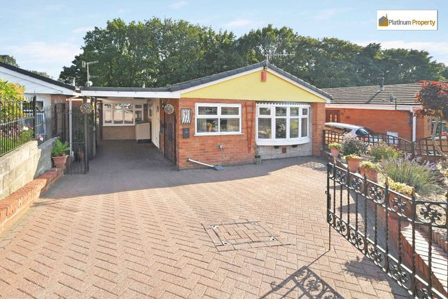 Thumbnail Detached bungalow for sale in Lowell Drive, Parkhall, Stoke-On-Trent