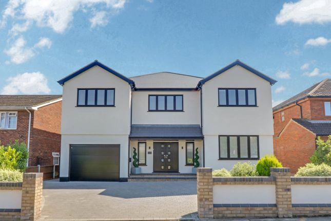 Thumbnail Detached house for sale in Clarence Road, Rayleigh, Essex