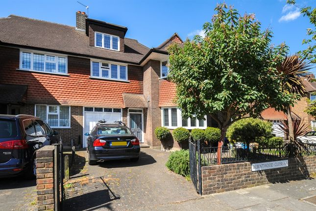 Thumbnail Semi-detached house for sale in Burntwood Close, London