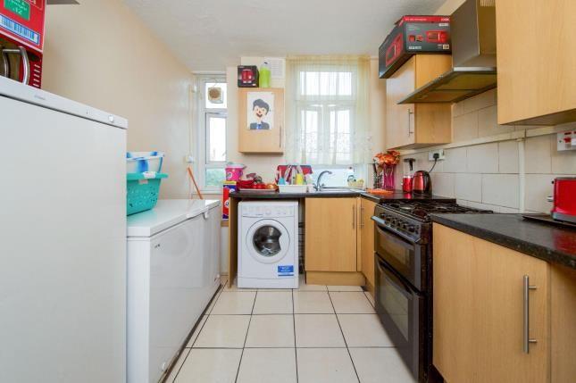 Kitchen of Nelson Mandela House, 124 Cazenove Road, London, England N16