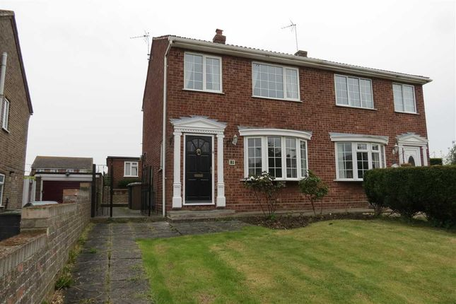 Thumbnail Semi-detached house to rent in Edmunds Road, Cranwell Village, Sleaford