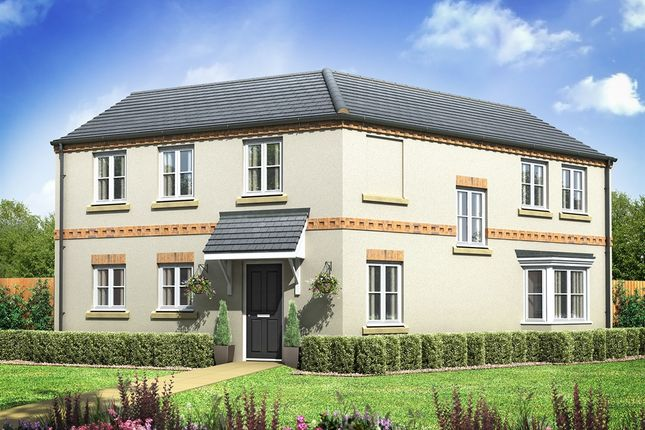 "Thumbnail Semi-detached house for sale in ""The Rowley"" at Bawtry Road, Bessacarr, Doncaster"
