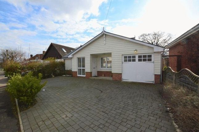 Thumbnail Detached bungalow for sale in Oakfields Road, Cringleford, Norwich