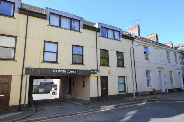 Thumbnail Flat for sale in Camden Court, 12 Camden Street, Plymouth, Devon