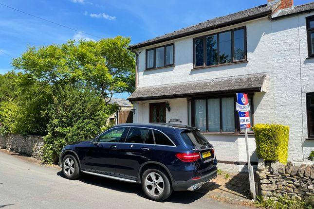 Thumbnail Semi-detached house for sale in Bowbridge Lane, Prestbury