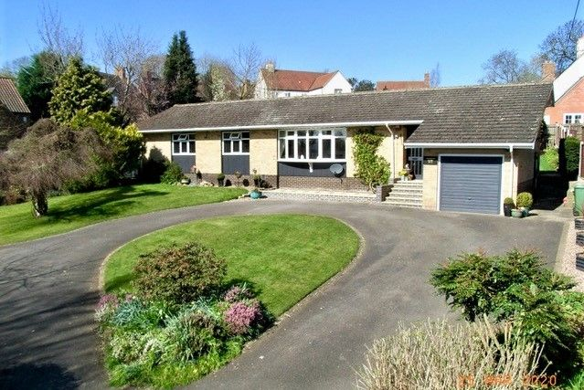 Thumbnail Detached bungalow for sale in Lime Street, Burton Lazars, Melton Mowbray
