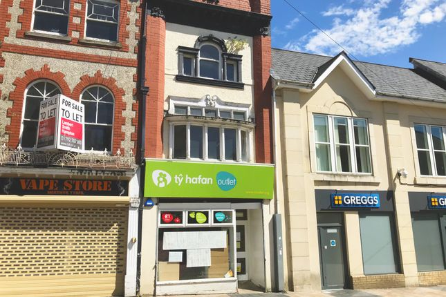Retail premises to let in High Street, Merthyr Tydfil