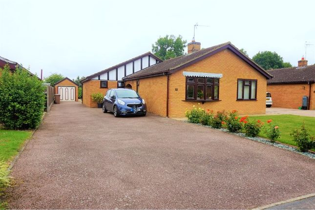 Thumbnail Detached bungalow for sale in Tomlinson Way, Ruskington, Sleaford