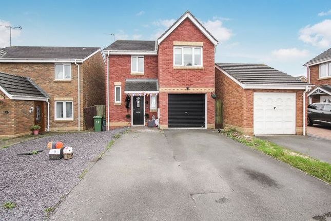 Thumbnail Detached house for sale in Maes Lindys, Rhoose, Barry