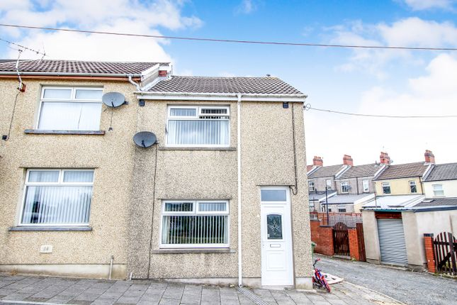 Thumbnail End terrace house for sale in St Annes Crescent, Bargoed