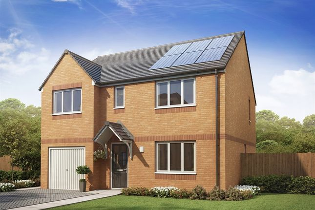 "Thumbnail Detached house for sale in ""The Thornwood "" at Kirk Lane, Livingston Village, Livingston"