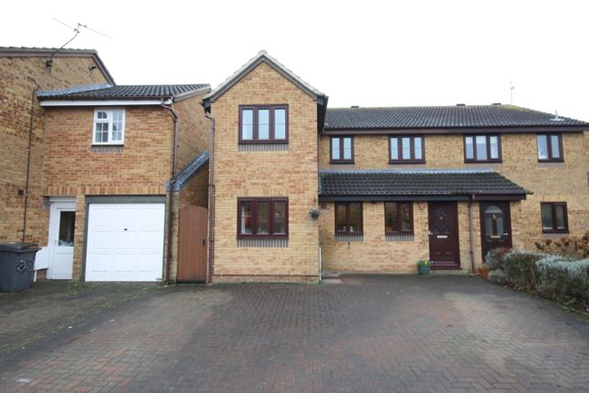 Thumbnail Semi-detached house for sale in Rubens Gate, Springfield, Chelmsford