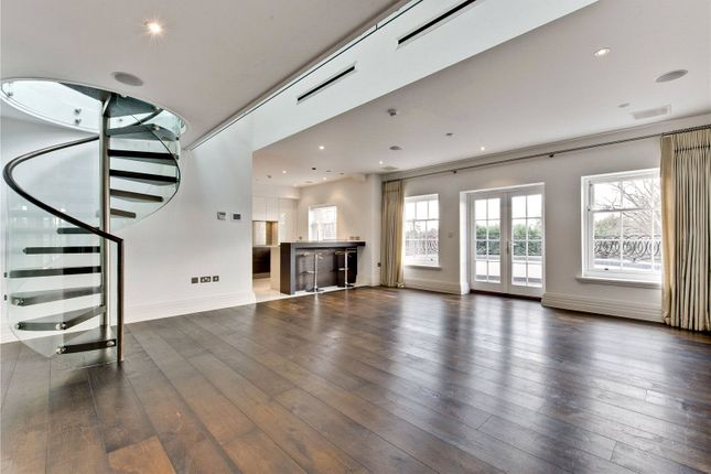 Thumbnail Flat for sale in Milbourne House, Princess Square, Esher, Surrey