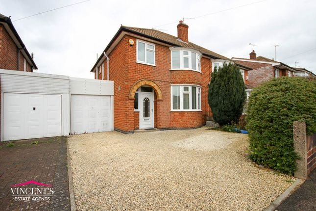 Thumbnail Semi-detached house for sale in Mossdale Road, Leicester