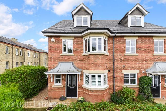 Thumbnail Semi-detached house for sale in Horton Crescent, Epsom