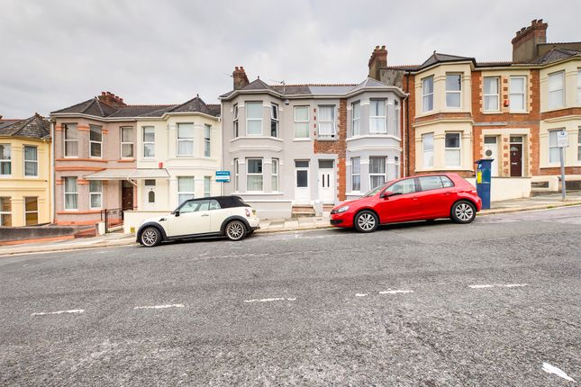 Thumbnail 3 bed terraced house to rent in Welbeck Avenue, Plymouth