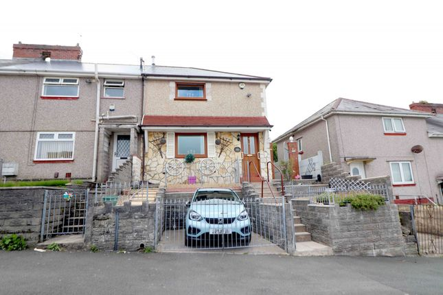 Thumbnail End terrace house for sale in Cadrawd Road, Swansea